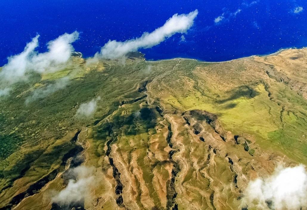 Aerial Helecopter Kaupo Maui
