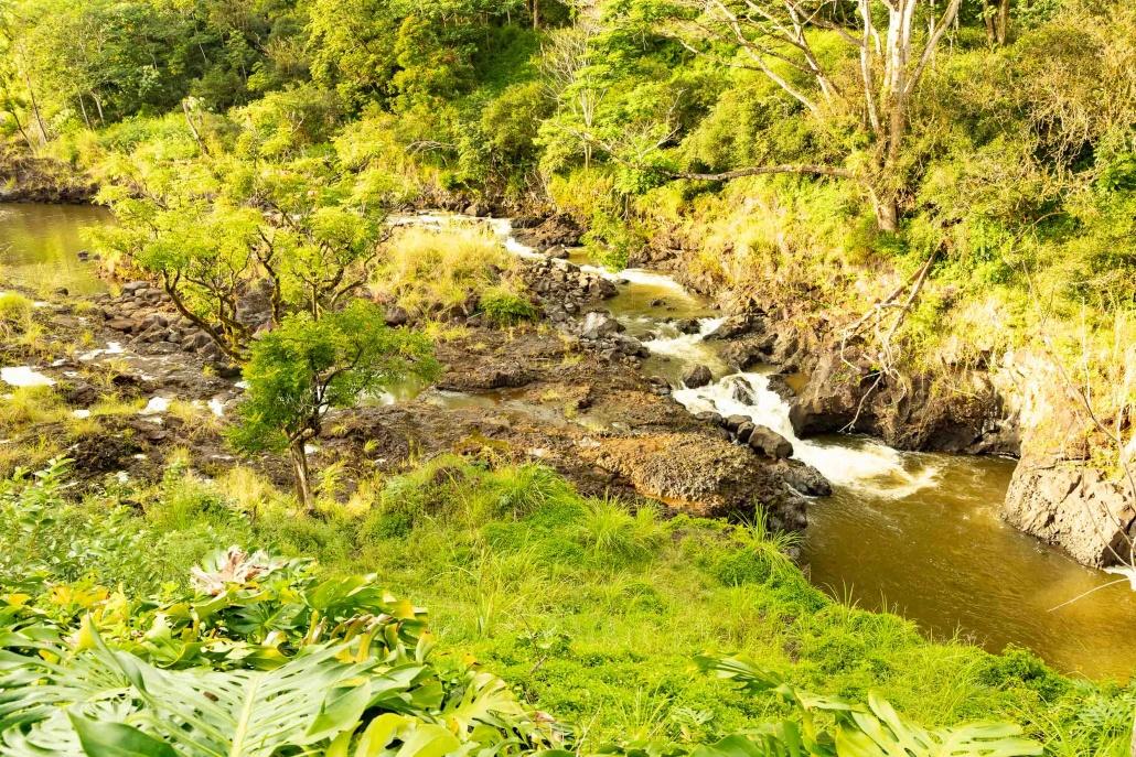 Boiling Pots Stream Hilo Big Island