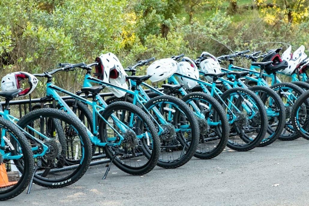 Haleakala Downhill Bikes and Helmets Maui