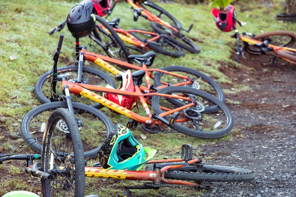 Haleakala Downhill Bikes at Lavender Farm Maui