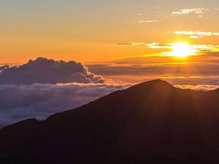 Haleakala Sunrise Incredible Views