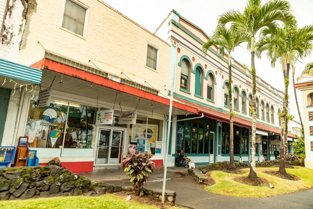 Hilo Town Historic Building Big Island