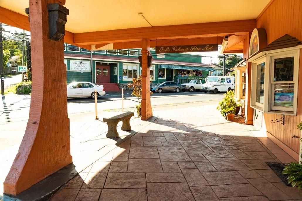 Makawao Town Corner Shops and Casanovas Maui
