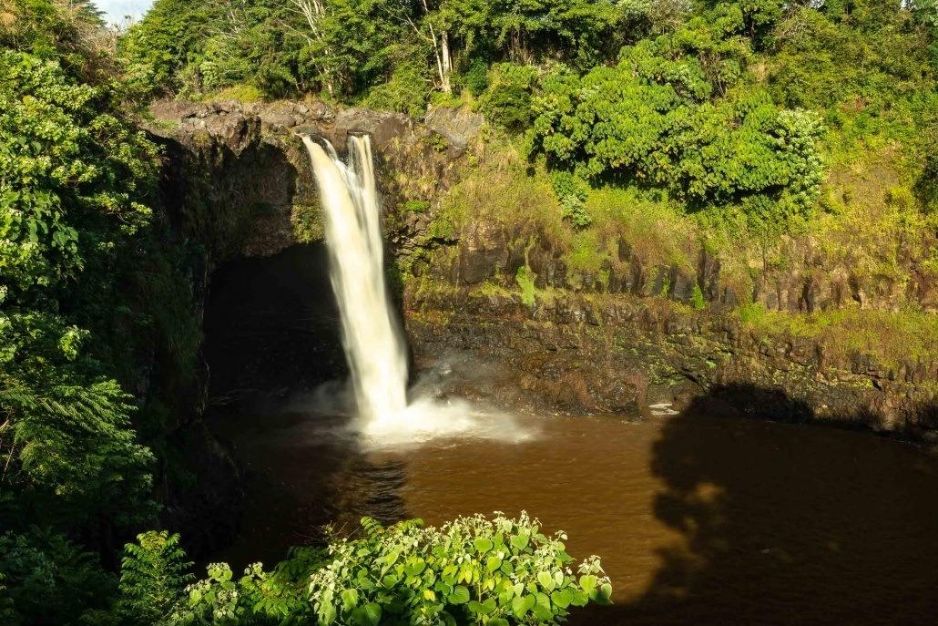 Rainbow Falls AM Hilo Big Island