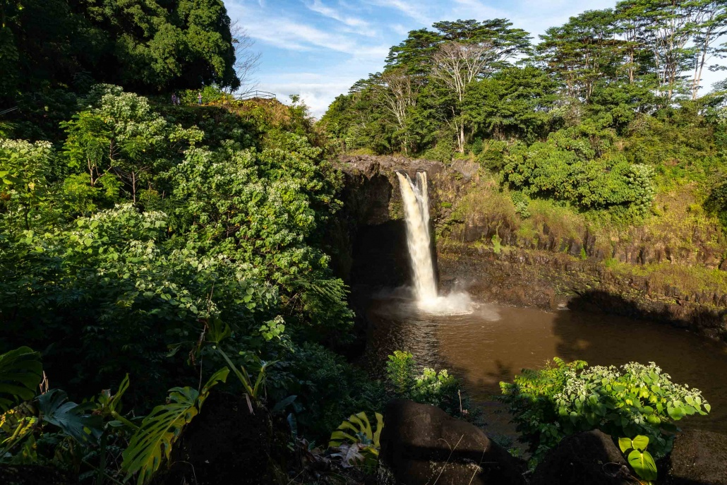 Rainbow Falls Wide Hilo Big Island