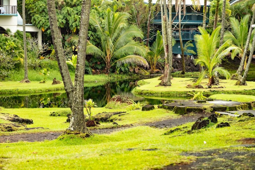 Richardson Black Sand Beach Park Grounds Hilo Big Island