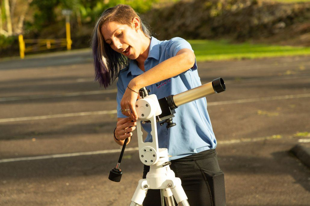 Solar Telescope and Guide Big Island