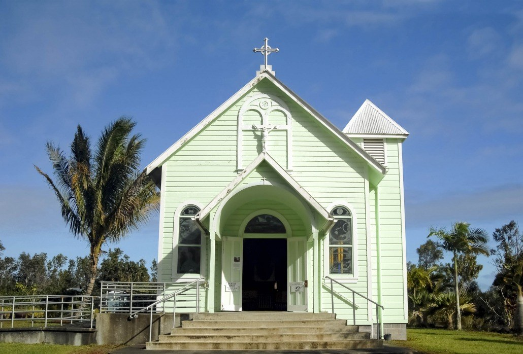 Star of the Sea Church Big Island