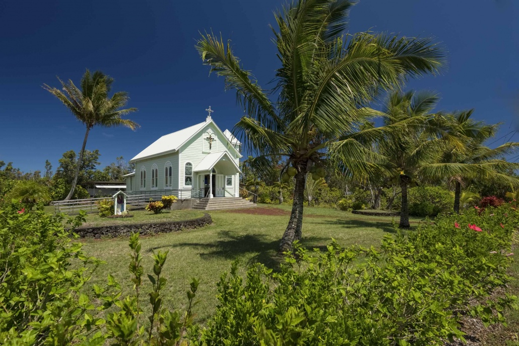 Star of the Sea Church Scenic Big Island