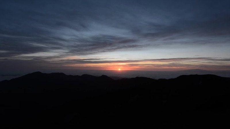 Sunrise at Halakeala Zip Tour