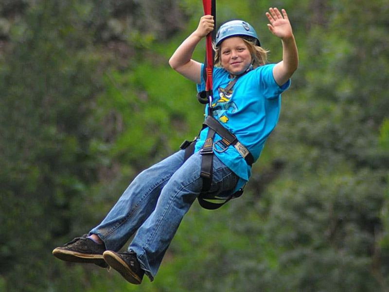 The Boy Zipline Tour