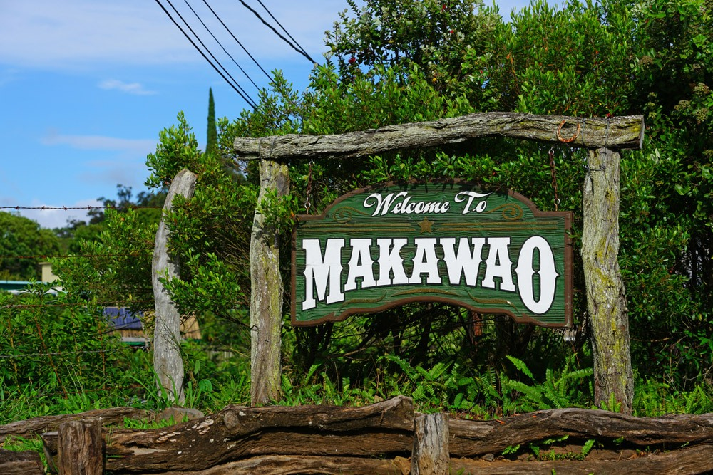 Welcome to Makawao