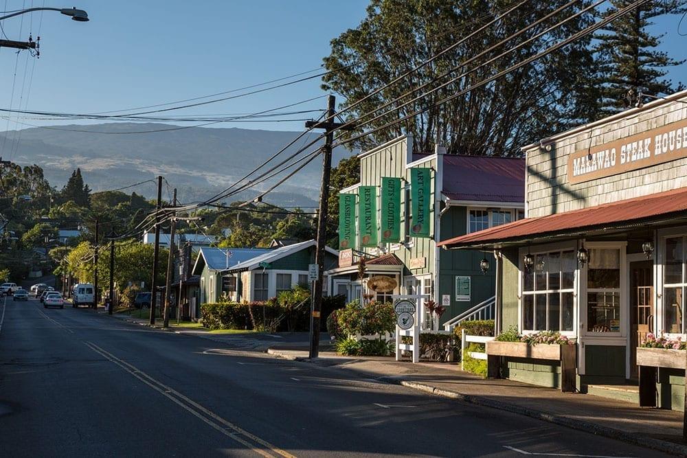 Maui Makawao Street