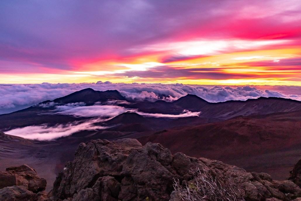 Haleakala Crater Sunrise Maui