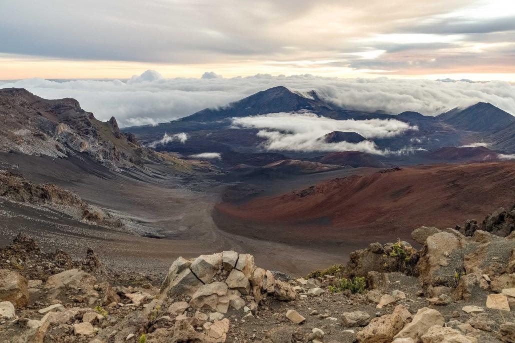 Haleakala Crater wide Maui