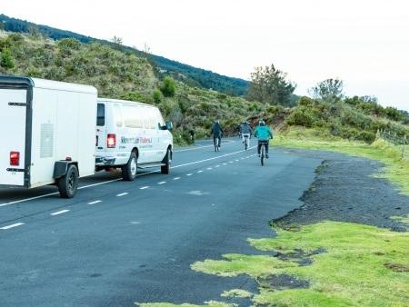 Haleakala Downhill Bikes on Crater Road Maui