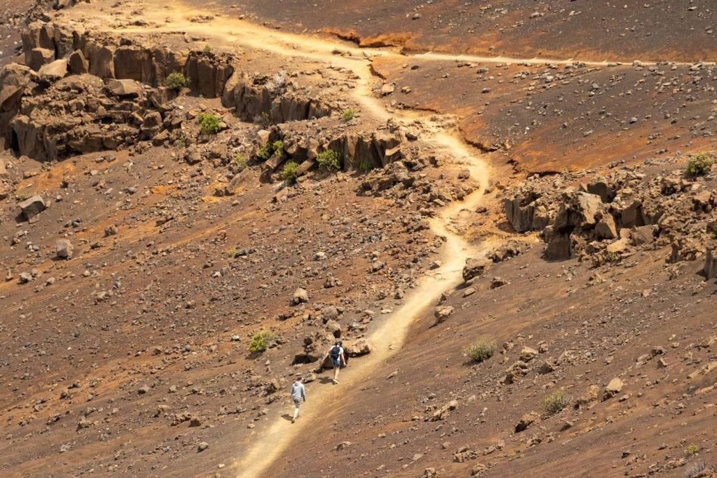 Haleakala Park Trails Sliding Sands