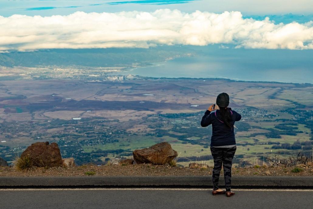 Haleakala Summit Visitor Maui
