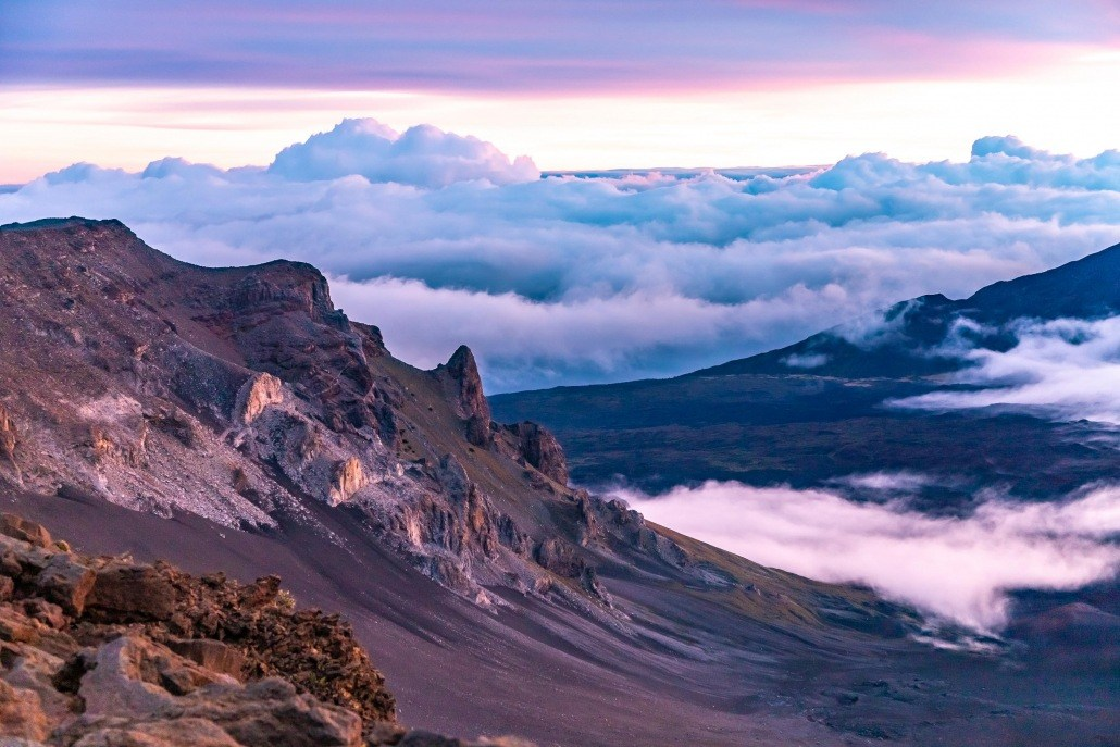 Haleakala Sunrise Crater Slope Maui