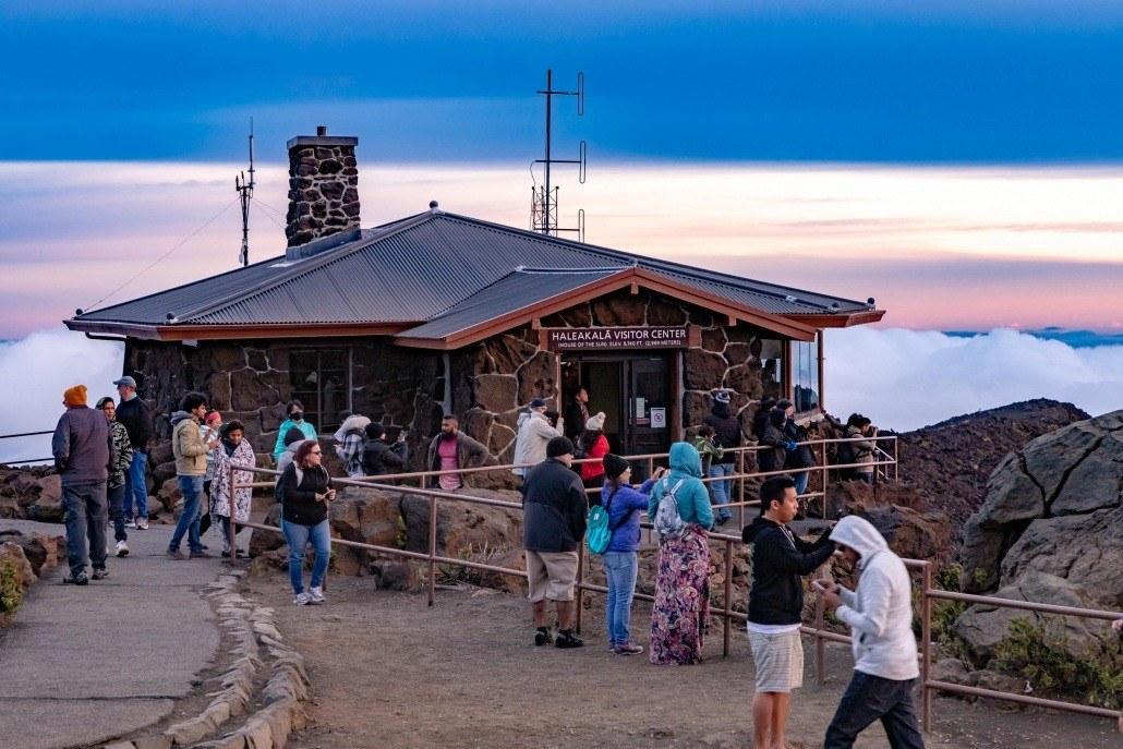 Haleakala Sunrise Visitor Center Maui
