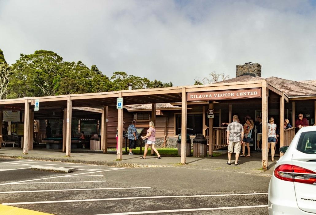 Kilauea Visitor Center Outside