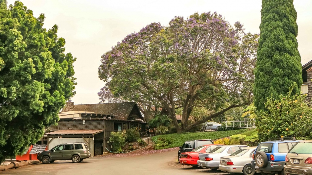 Kula Lodge and Marketplace Parking Maui