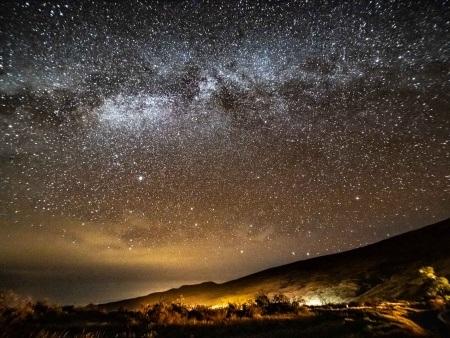 Mauna Kea Star Gazing Night Sky Milky Way Big Island