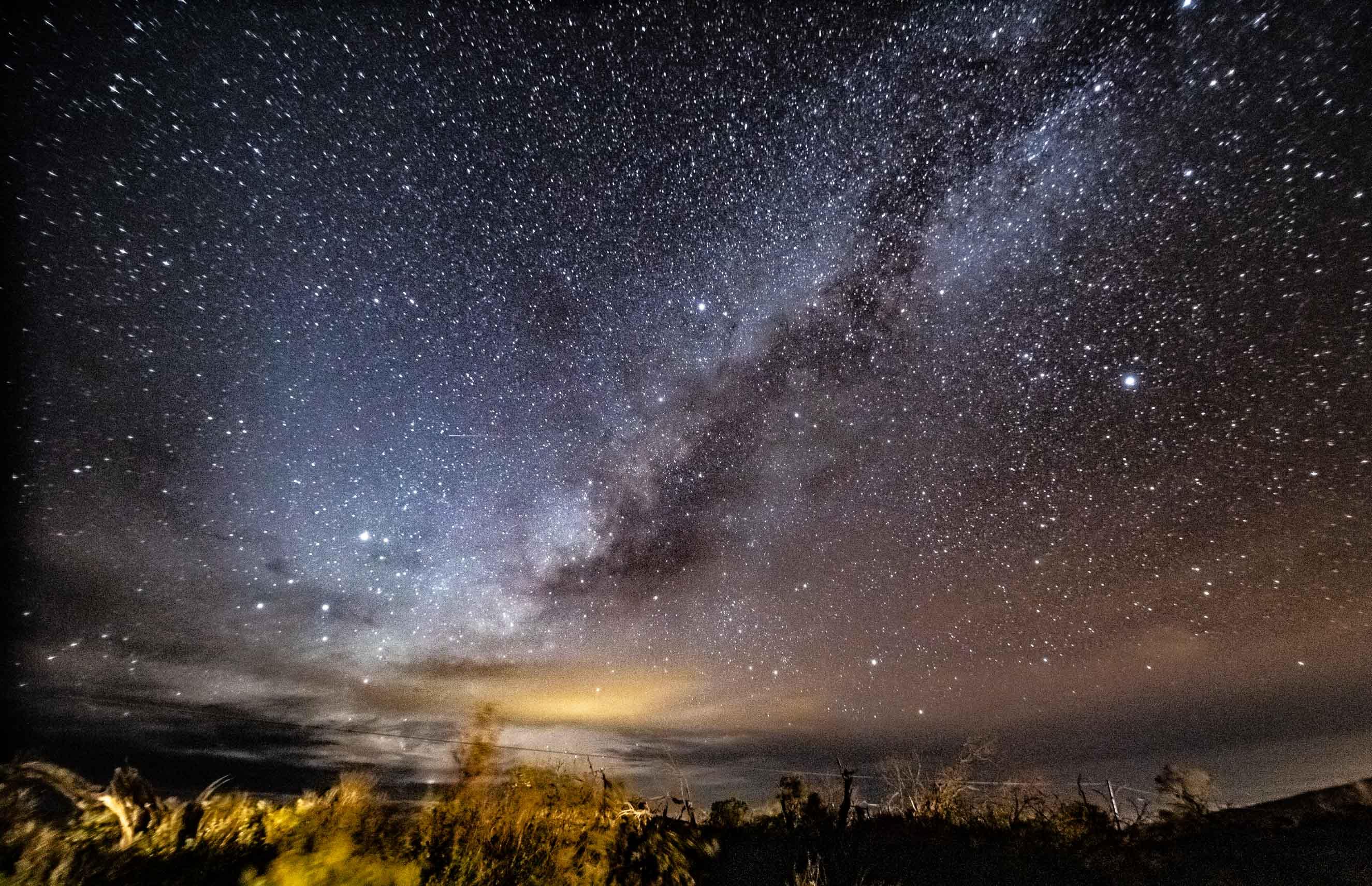 Mauna Kea Star Gazing Night Sky Milky Way EX Big Island