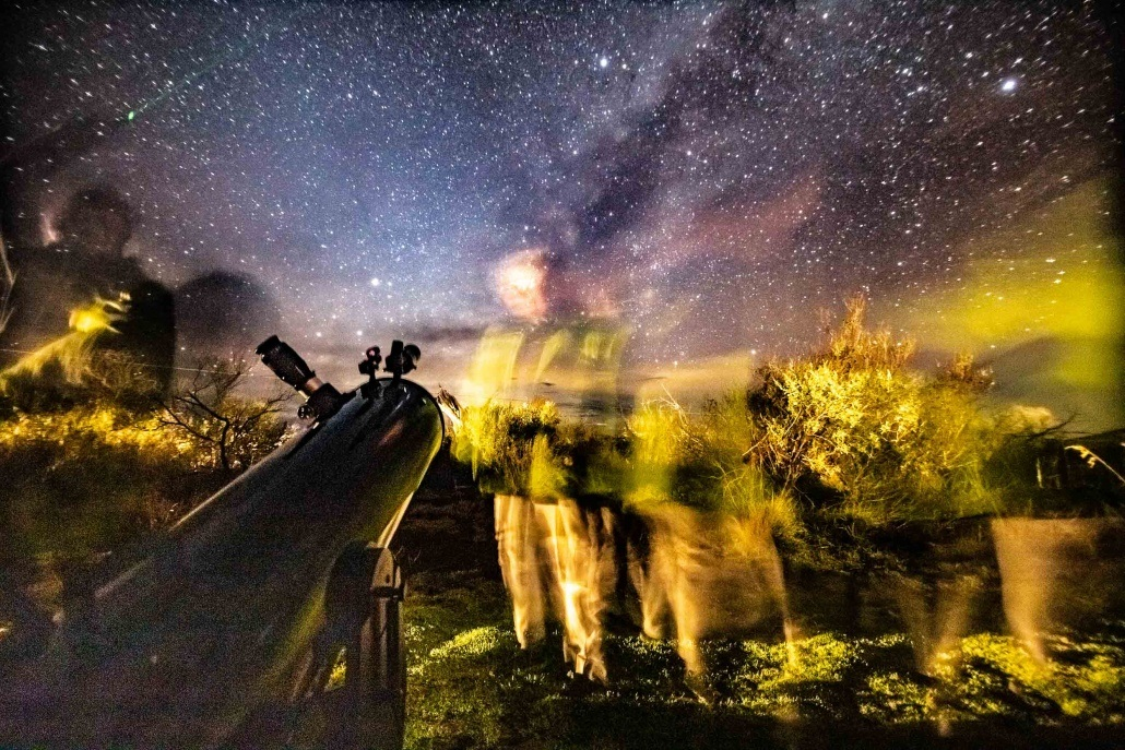 Mauna Kea Star Gazing Night Sky Telescope and Guests Big Island