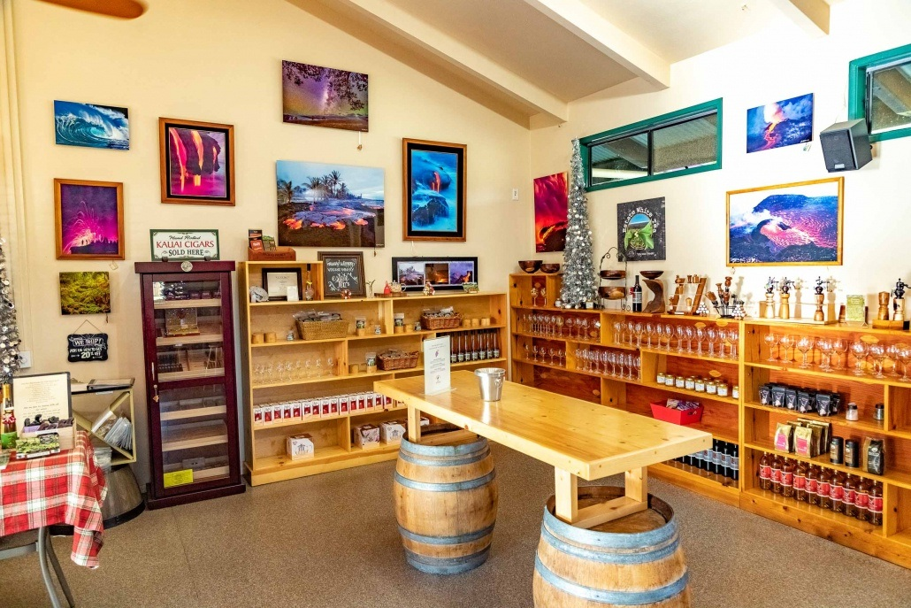 Volcano Winery Interior Big Island