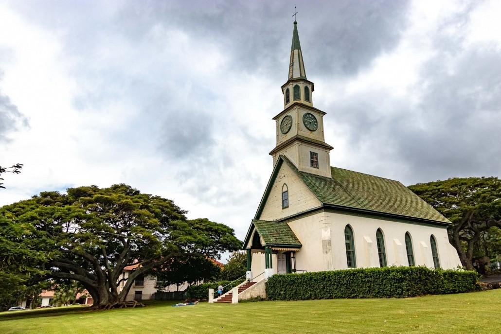 Wailuku Town Kaahumanu Church Maui