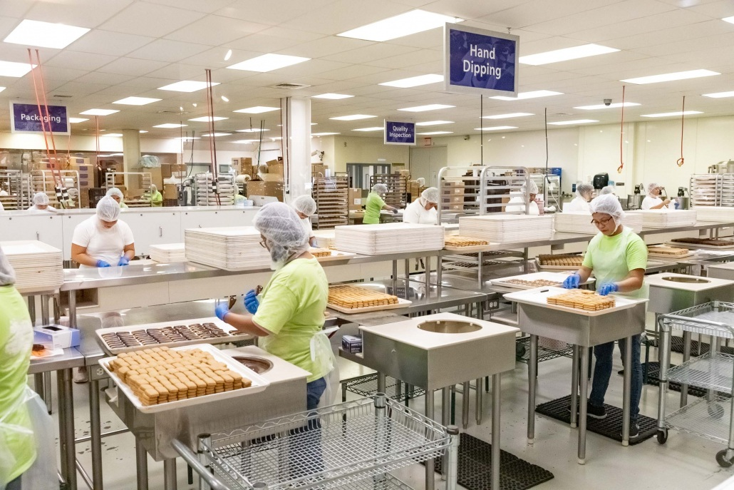 Big Island Candies Factory Work
