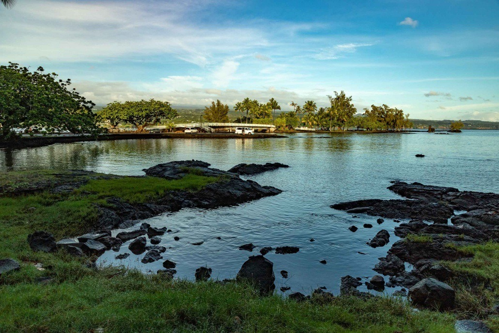 Hilo Bay Coconut Island Bridge