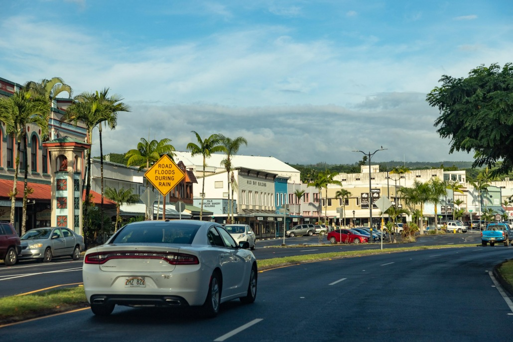 Hilo Town Coastal Road