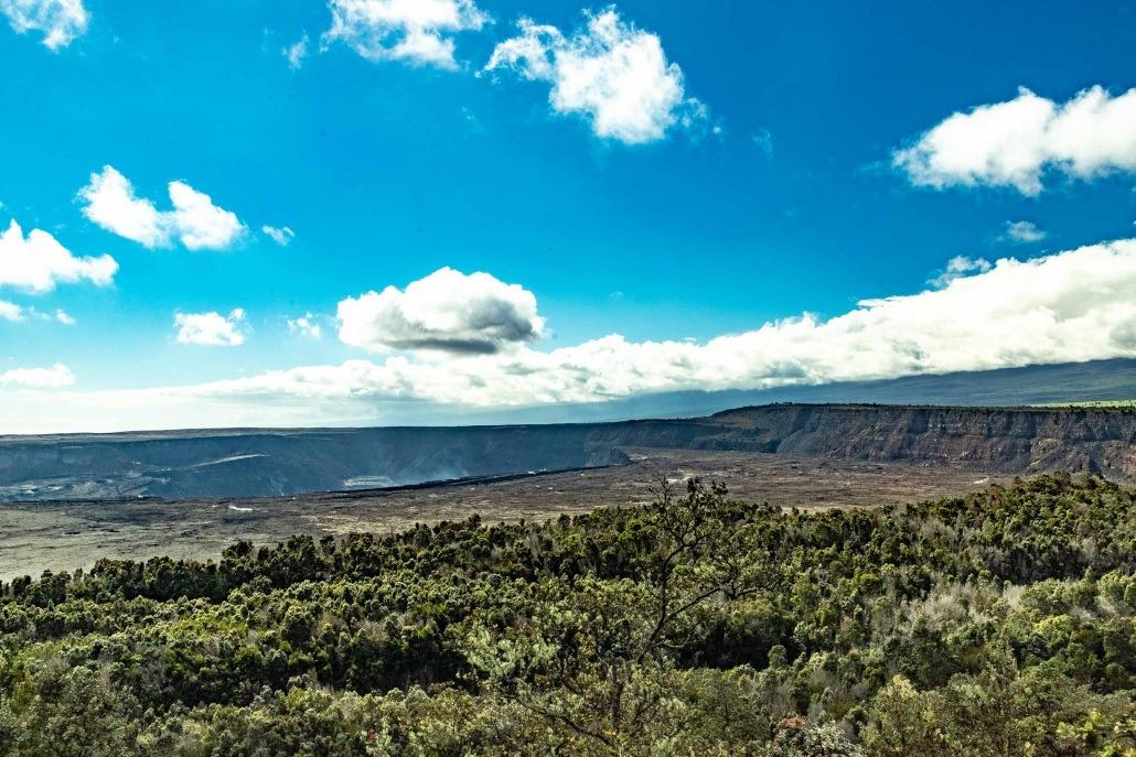 Kilauea Crater Big View