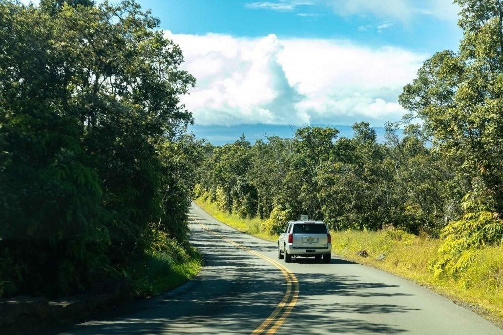 Kilauea Crater Rim Road