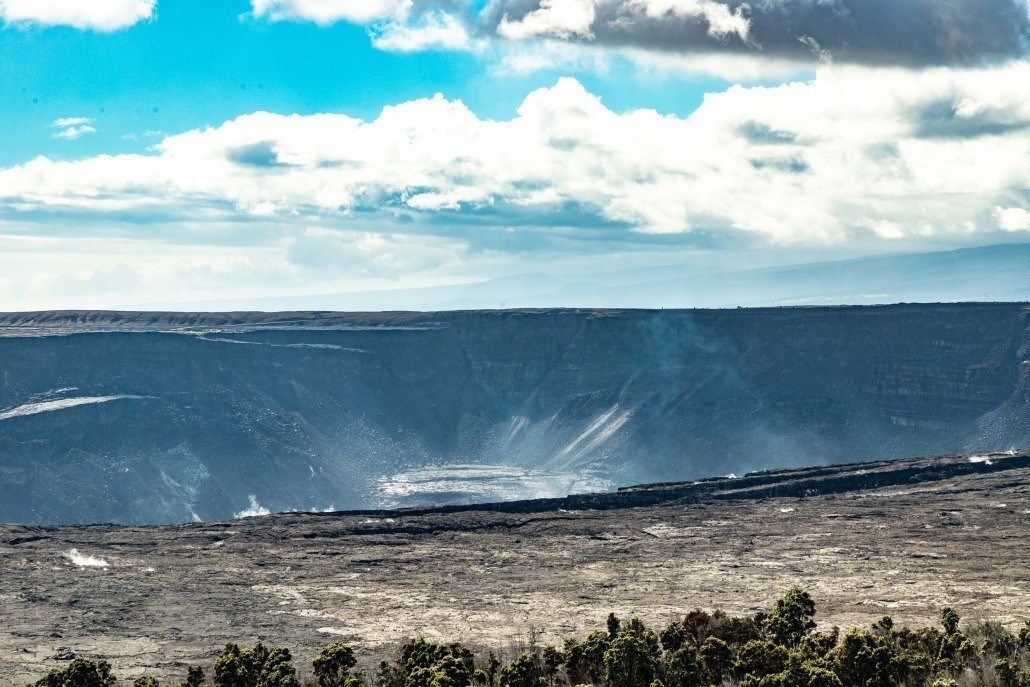 Kilauea Crater View