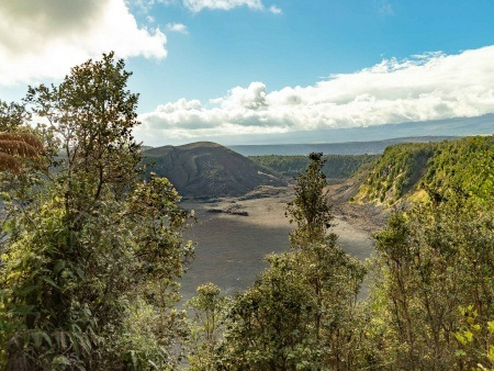 Kilauea Iki Overlook View