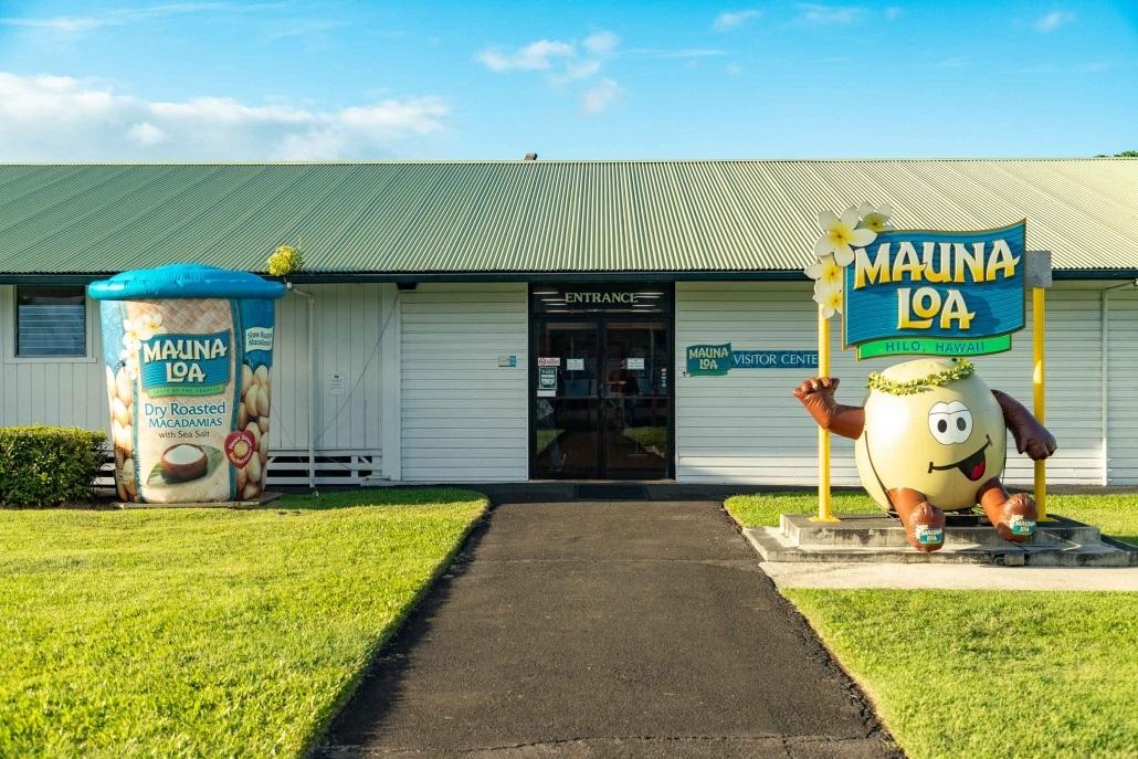 Mauna Loa Macadamia Entrance