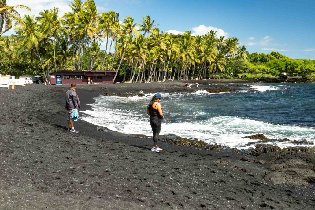 Punaluu Black Sand Guests