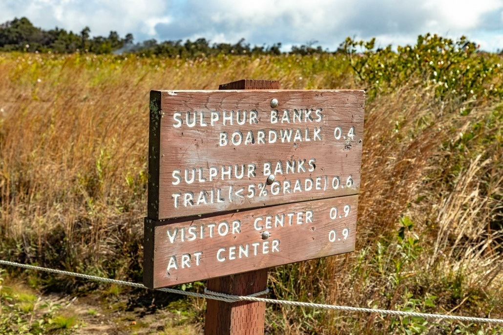 Sulphu Banks Sign