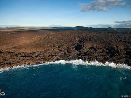 Coastal View of West Maui From Helicopter