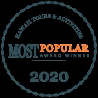 Most Popular Hawaii Tours Awards