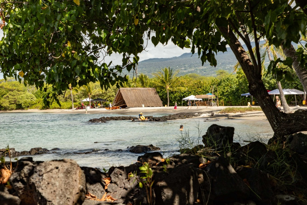 Kaloko-Honokohau National Historical Park Beach Village Big Island Hawaii