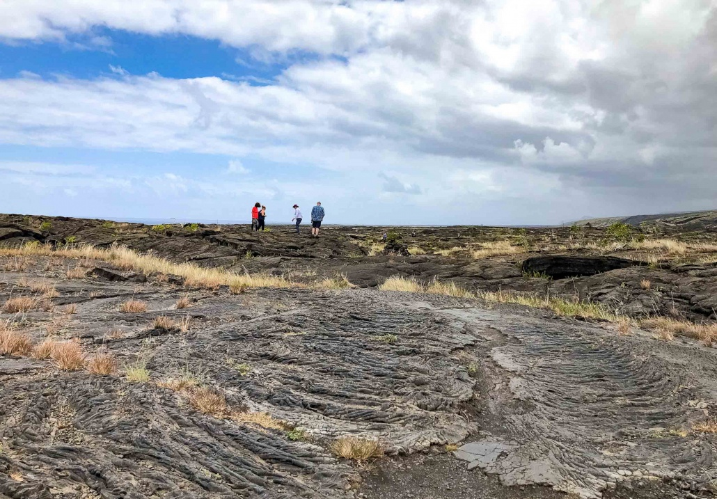 Lava takes on many shapes within this national park