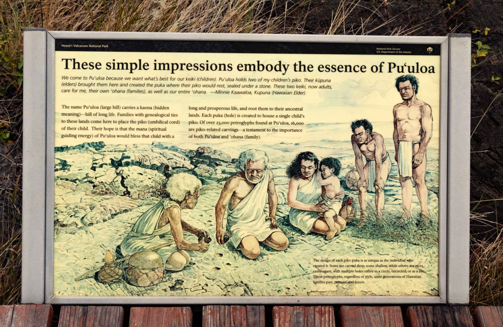 Plaques and signs depicts the importance these lands are to native Hawaiians