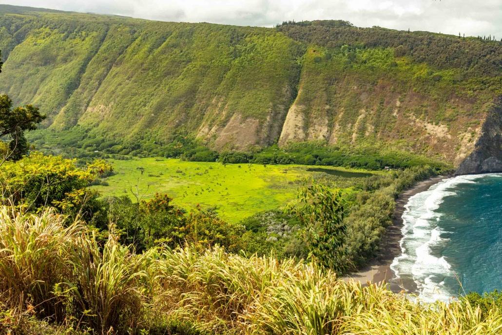 The fertile valley floor fed thousands of ancient Hawaiians